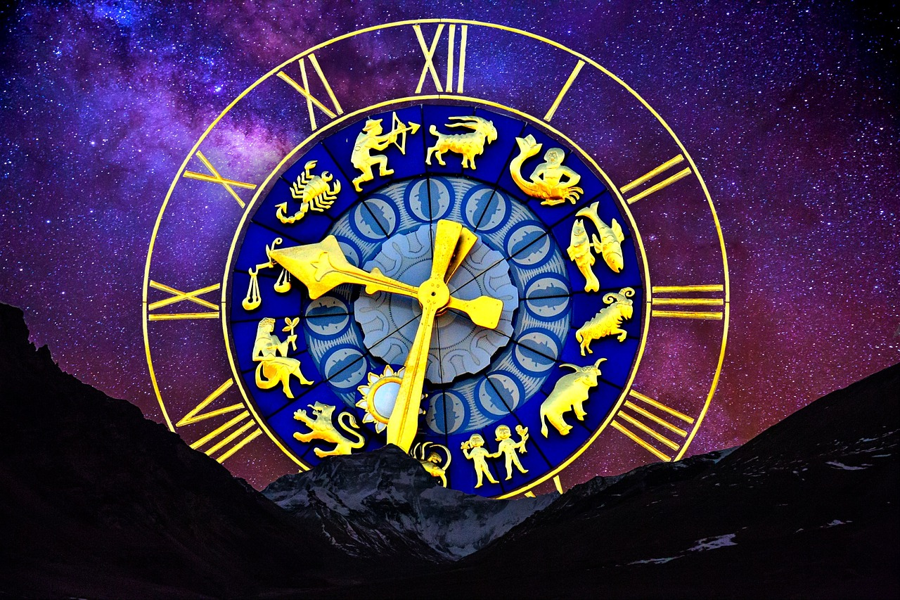 starry sky, zodiac sign, clock-2533021.jpg