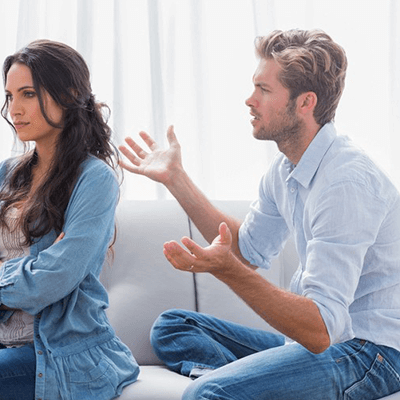 husband wife dispute